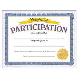 Certificate Of Participation By Trend Enterprises