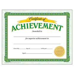 Certificate Of Achievement Classic By Trend Enterprises