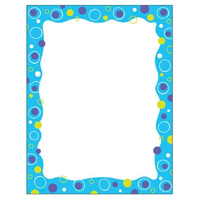 Blue Fizz Paper By Trend Enterprises