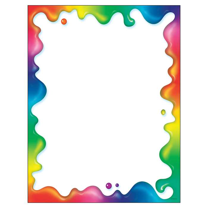 Rainbow Gel Paper By Trend Enterprises