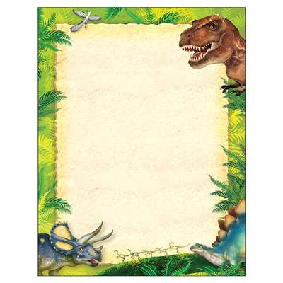 Discovering Dinosaurs Terrific Paper, T-11455