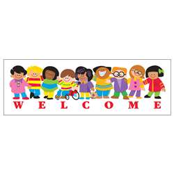 Bookmarks Welcome Trend Kids 36/Pk By Trend Enterprises