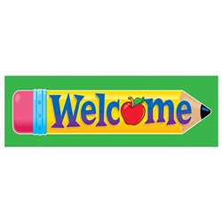 Bookmarks Welcome Pencil 36/Pk By Trend Enterprises