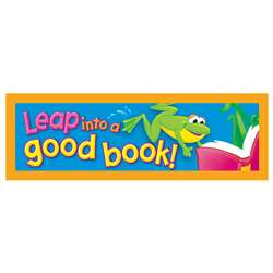 Bookmarks Leap Into A Good 36/Pk Book By Trend Enterprises