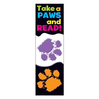 Take A Paws Bookmarks By Trend Enterprises