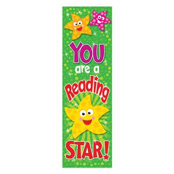 You Are A Reading Star Bookmarks By Trend Enterprises