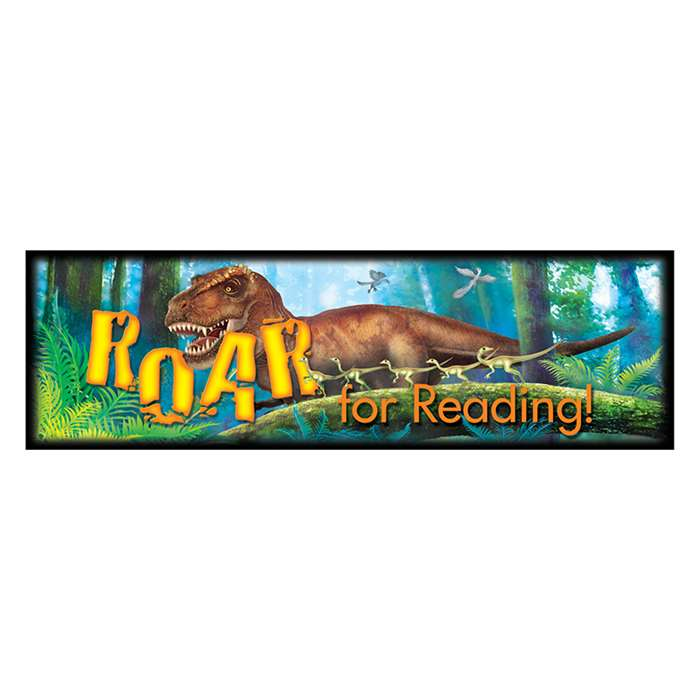 Roar For Reading Discovering Dinosaurs Bookmarks, T-12037