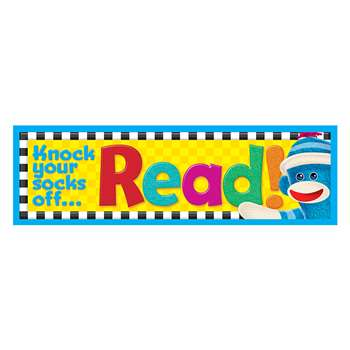 Sock Monkey Read Bookmarks By Trend Enterprises