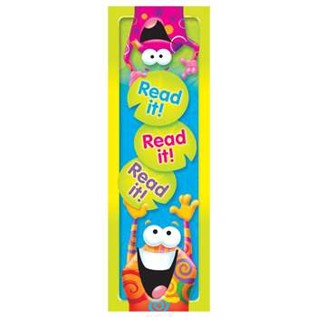 Read It Read It Read It Frog-Tastic Bookmarks By Trend Enterprises