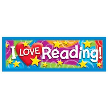 I Love Reading Stars N Swirls Bookmarks By Trend Enterprises