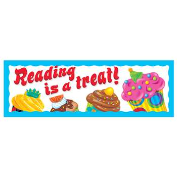 Reading Is A Treat Bake Shop Bookmarks By Trend Enterprises