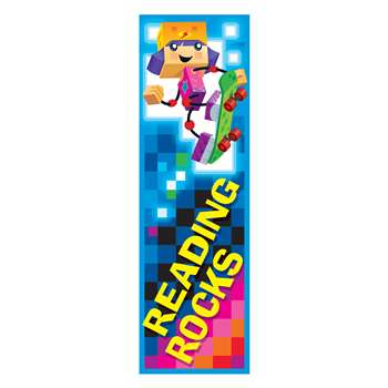 Reading Rocks Blockstars Bookmarks, T-12125