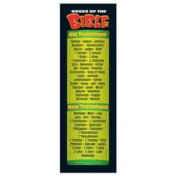 Books Of The Bible Bookmarks By Trend Enterprises