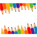 Name Tags Colored Pencils 36/Pk By Trend Enterprises