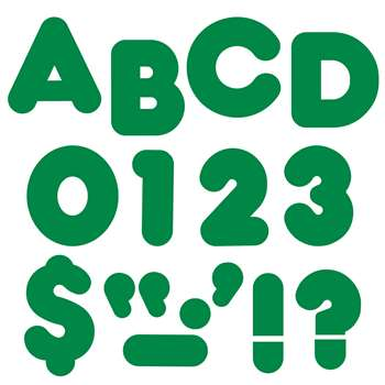 Ready Letters 4 Casual Kelly Green By Trend Enterprises