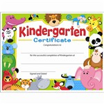 Kindergarten Certificate Awesome Animals By Trend Enterprises