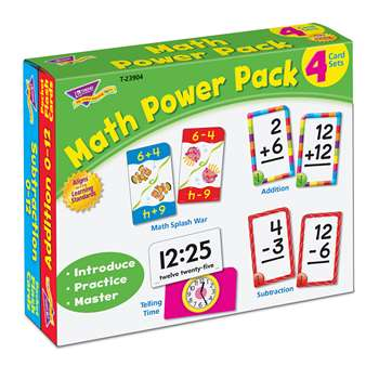 Math Power Pack, T-23904
