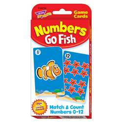 Challenge Cards Numbers Go Fish By Trend Enterprises