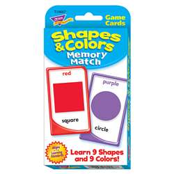 Challenge Cards Colors And Shape By Trend Enterprises