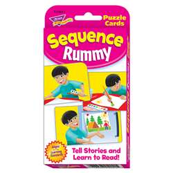 Challenge Cards Sequence Rummy By Trend Enterprises