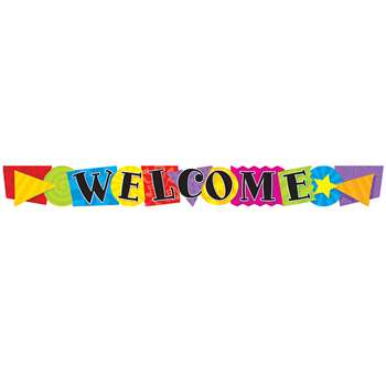 Banner Welcome Shapes 10 Horizontal By Trend Enterprises