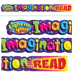 Light Up Your Imagination Read 10Ft Horizontal Banner By Trend Enterprises