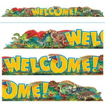 Welcome Discovering Dinosaurs Quotable Expressions, T-25081