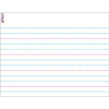 Handwriting Paper Wipe Off Chart 17X22 By Trend Enterprises