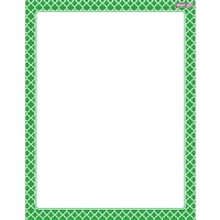 Moroccan Green Wipe Off Chart, T-27324