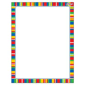 Stripe-Tacular Candy Wipe Off Chart, T-27343