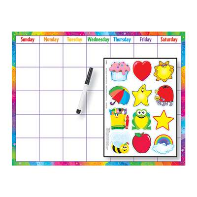Reusable Calendar Cling Accents 17 X 22 By Trend Enterprises