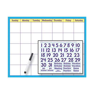 Reusable Calendar Cling Numerals 17 X 22 By Trend Enterprises