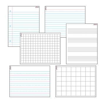 Wipe Off Papers & Grids Combo Pack By Trend Enterprises
