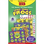 Frogs Frogs Frogs Variety Pk Mixed Sticker Variety Pks By Trend Enterprises