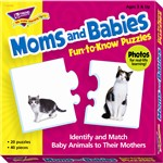 Puzzle Moms And Babies By Trend Enterprises