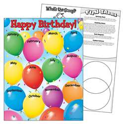 Chart Happy Birthday 17X22 Gr Pk-1 By Trend Enterprises
