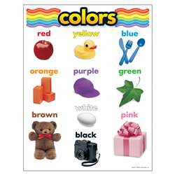 Chart Colors 17 X 22 Gr Pk-1 By Trend Enterprises
