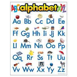 Chart Alphabet 17 X 22 Gr Pk-2 By Trend Enterprises