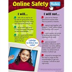 Chart Online Safety Rules By Trend Enterprises