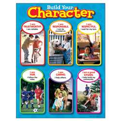 Chart Build Your Character By Trend Enterprises