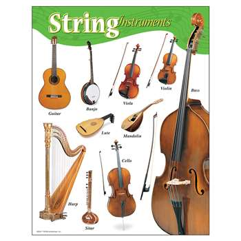 Chart String Instruments Gr K-8 17 X 22 By Trend Enterprises
