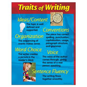 Chart Traits Of Writing 17 X 22 By Trend Enterprises