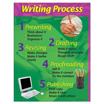 Chart Writing Process 17 X 22 By Trend Enterprises