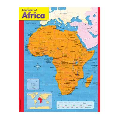Chart Continent Of Africa By Trend Enterprises