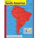 Chart Continent Of South America By Trend Enterprises