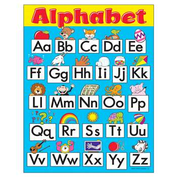 Chart Alphabet Fun Preschool-Gd 1 By Trend Enterprises