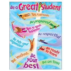 Chart How To Be A Great Student By Trend Enterprises