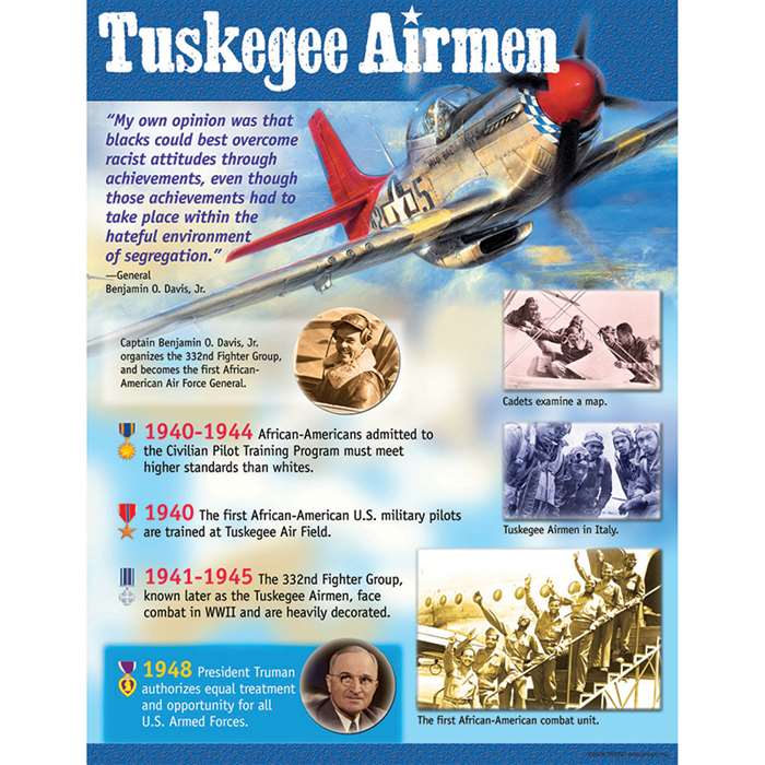 Tuskegee Airmen Learning Chart By Trend Enterprises