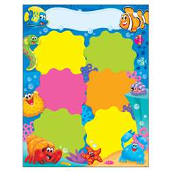 Job Chart Sea Buddies Learning Chart, T-38356