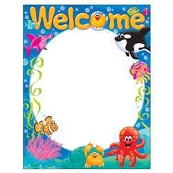 Welcome Sea Buddies Learning Chart, T-38357